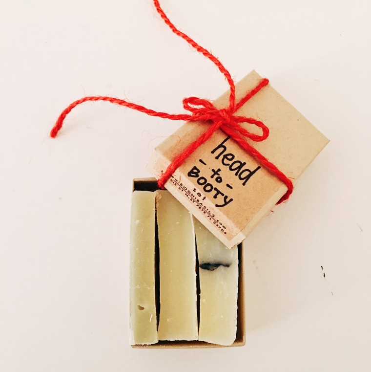 Bodhi Basics Head to Booty Soap Sampler