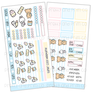 Copy of Back to School Friends Functional Stickers