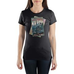 Harry Potter Fantastic Beasts A Magical Welcome to New York Women's Black T-Shirt