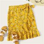 Ditsy Floral Ruffle | Yellow
