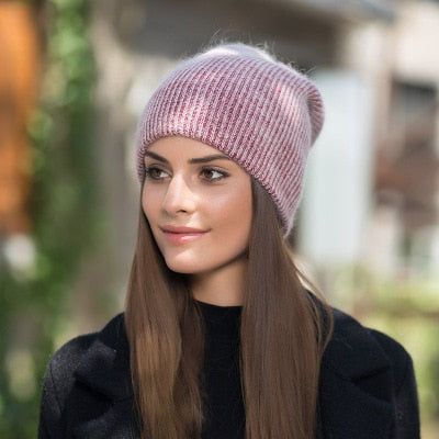 Georgie Beanie | Wine Red