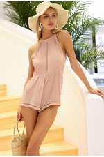 Paris West playsuit - Nude