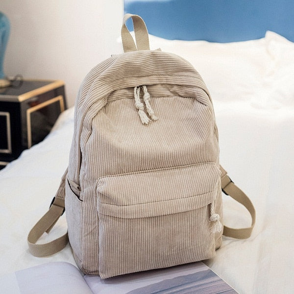 Soft Suede Backpack | Tan