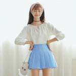 SAILOR STYLE SKIRT - oceanscollection