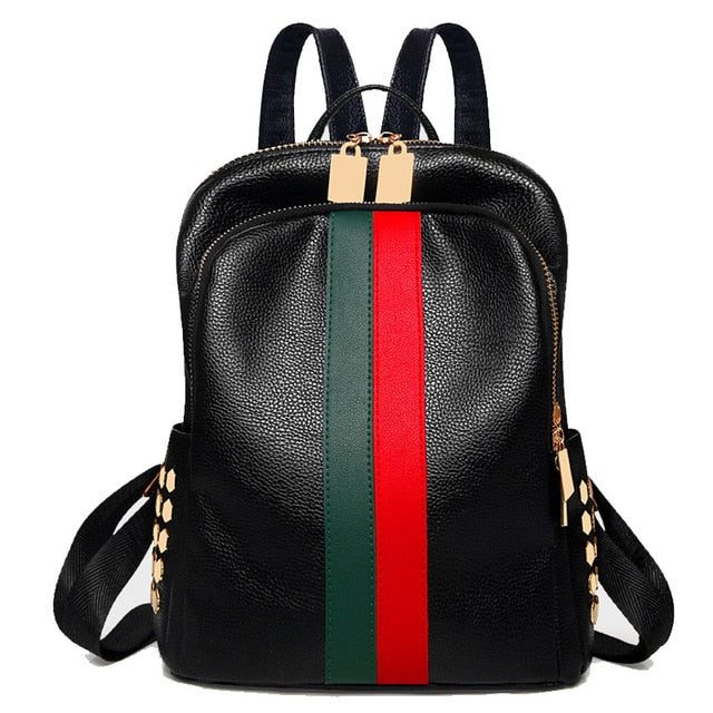Designer Bag | Green/Red