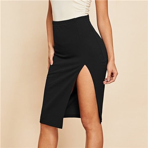 Janeva Split Skirt