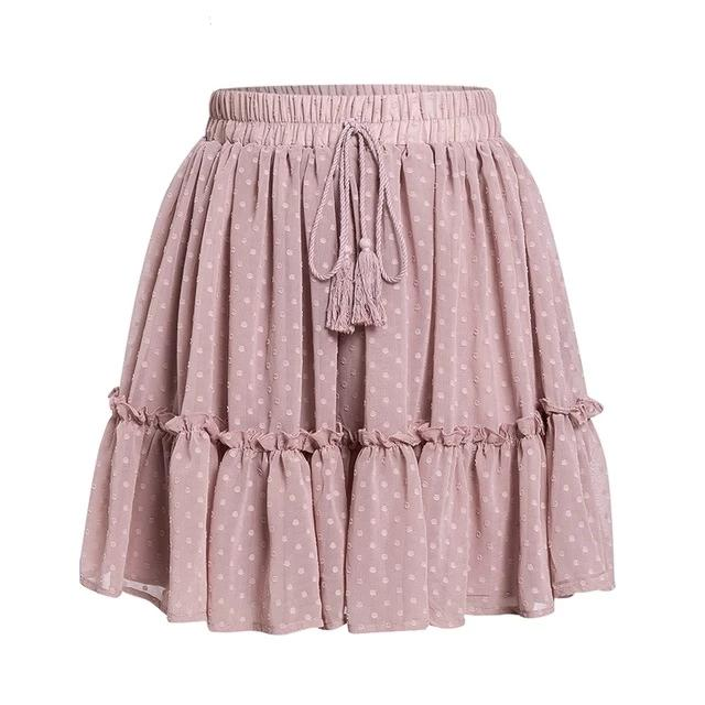 Miss Polka Skirt | Pink