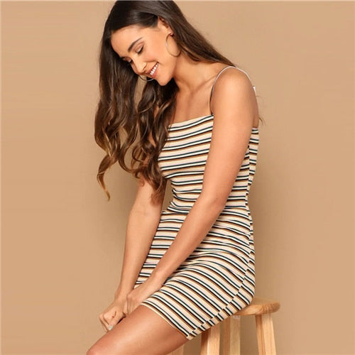 Tracey Stripe dress
