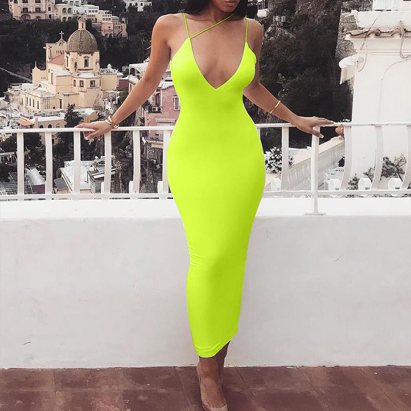 Kinetic Khloie Neon dress - Green