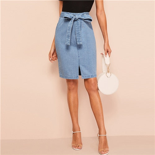Tyler Denim Skirt