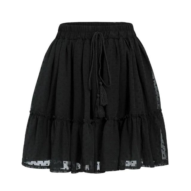 Miss Polka Skirt | Black