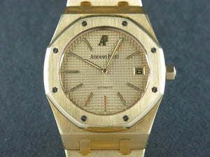 Audemars Piguet Neo Vintage 1995 Royal Oak Automatic Jumbo Extra Thin 18 ct. Yellow Gold 39 mm 15002