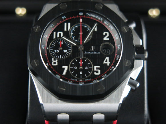 Audemars Piguet Royal Oak Offshore Chronograph Ceramic Bezel 42 mm 26470