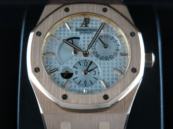 Audemars Piguet Royal Oak Dual Time Power Reserve 18 ct. Rose Gold 39 mm