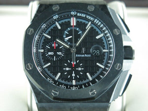 "Audemars Piguet Royal Oak Offshore Chronograph Novelty Forged Carbon Ceramic Bezel 44 mm ""H"" Series 26400"