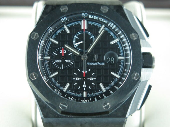 Audemars Piguet Royal Oak Offshore Chronograph Novelty Forged Carbon Ceramic Bezel 44 mm