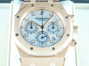 "Audemars Piguet Royal Oak Chronograph 18 ct. Rose Gold 39 mm ""F"" Series 26022"
