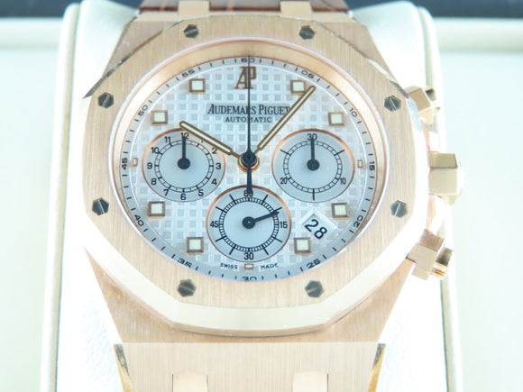 Audemars Piguet Royal Oak Chronograph 18 ct. Rose Gold 39 mm
