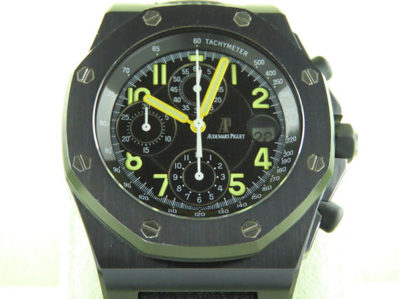 Audemars Piguet Royal Oak Offshore Arnold Schwarzenegger End Of Days PVD Limited Edition