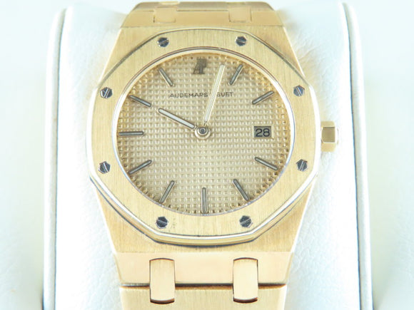 Audemars Piguet Royal Oak Ladies Quartz 18 ct. Yellow Gold 33 mm