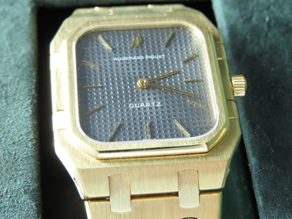 Audemars Piguet Vintage 1979 Royal Oak Jumbo Rectangular 18 ct. Yellow Gold 6005