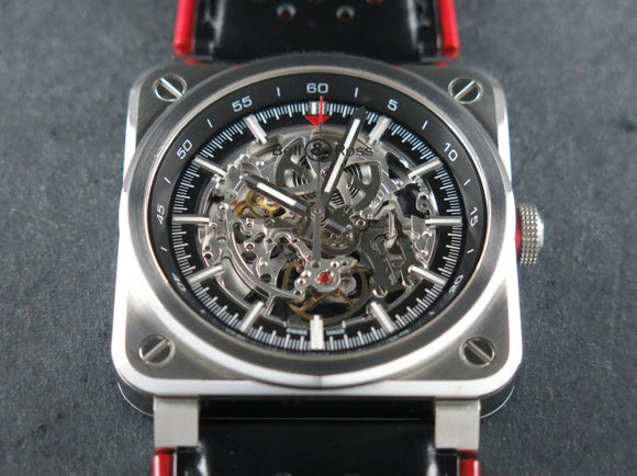 Bell & Ross Instrument Aero GT Skeleton Dial Limited Edition BR 03 92