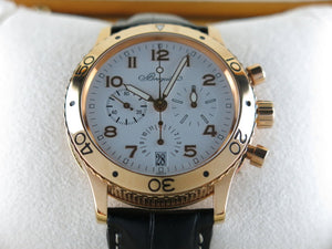 Breguet Transatlantique Type XX Flyback Chronograph 18 ct. Rose Gold 3820
