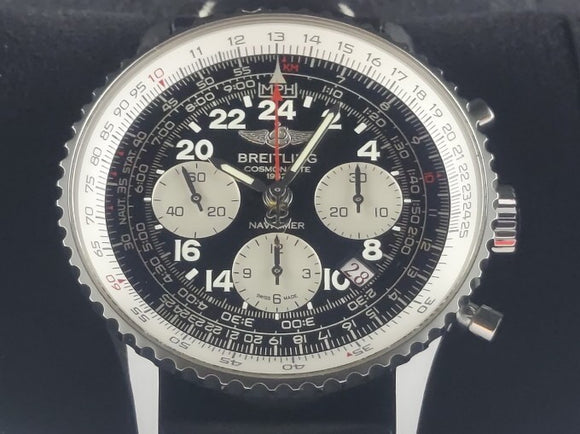 Breitling Navitimer Cosmonaute Mercury 7 Aurora Carpenter 24 Hours Dial Limited Edition