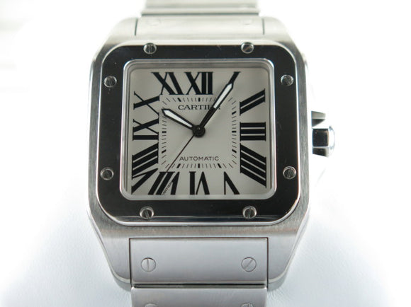 Cartier Santos 100 XL Automatic W20073X8