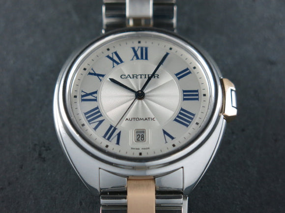 Cartier Cle de Cartier Automatic 18 ct. Rose Gold / Stainless Steel