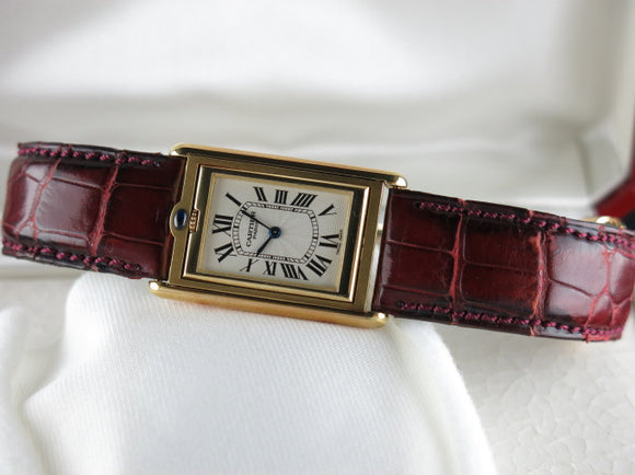Cartier Basculante 18 ct. Yellow Gold Limited Edition 2391
