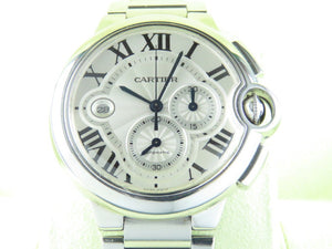 Cartier Ballon Bleu Chronograph 44 mm W6920002 July 2011