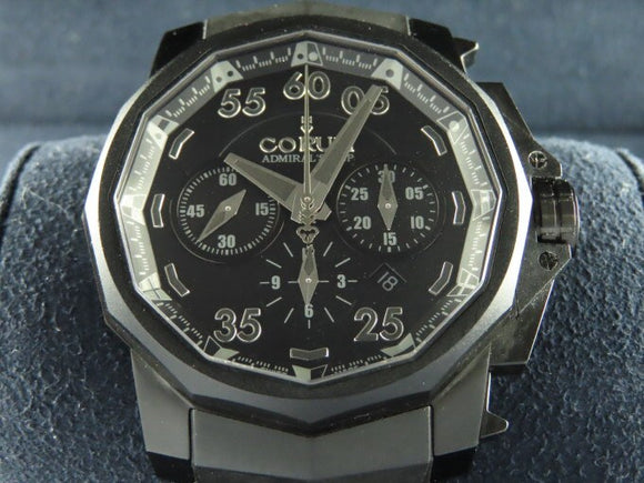 Corum Admiral's Cup Black Hull 48 Titanium PVD Limited Edition
