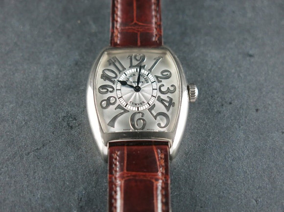 Franck Muller Cintree Curvex Relief Limited Edition 18 ct. White Gold 2852 QZ