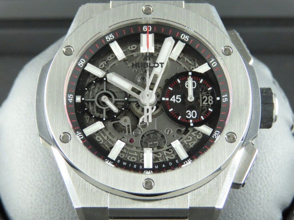 Hublot Big Bang Unico Integral Titanium 42 mm Flyback Chronograph 72 Hours Power Reserve