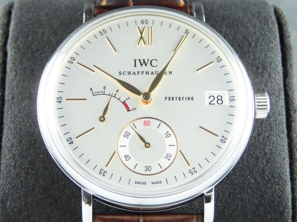 IWC Portofino Hand Wound 8 Days Power Reserve 45 mm 5101