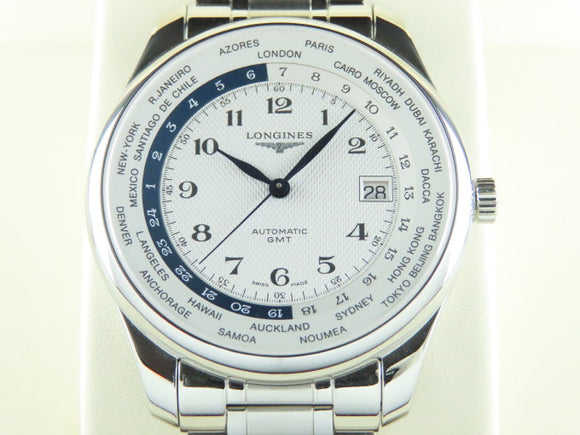 Longines Master Collection Worldtime Automatic 42 mm