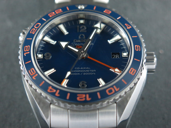 Omega Seamaster Planet Ocean GMT 600 Meters Good Planet