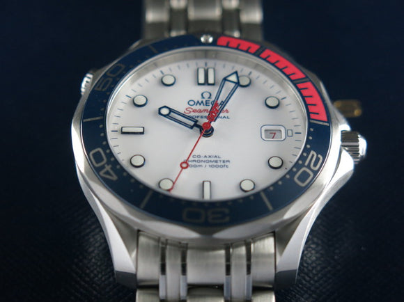 Omega Seamaster Diver 300 Meters Co-Axial Commander's Watch Limited Edition