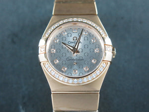 Omega Constellation 18 ct. Rose Gold