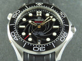Omega Seamaster Diver 300 Meters Co Axial Master Chronometer 42 mm James Bond Limited Edition