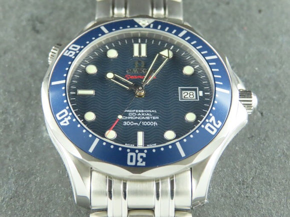 Omega Seamaster Diver 300 Meters Co-Axial James Bond 41 mm