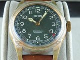 Oris Big Crown Pointer Date Bronze 80th Anniversary Edition Green Dial 40 mm