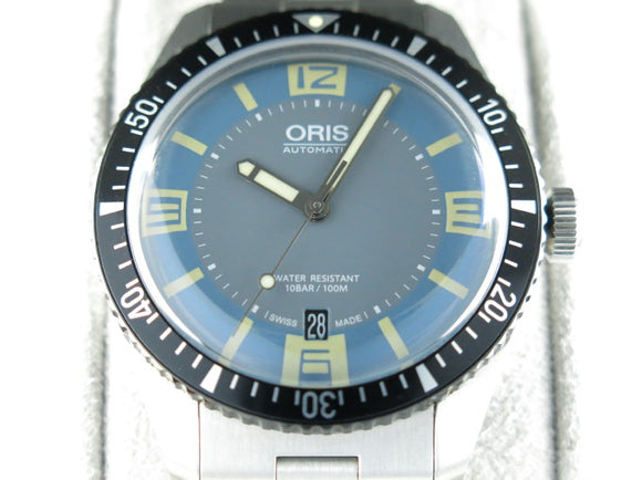 Oris Divers Sixty Five Blue Grey Dial 40 mm