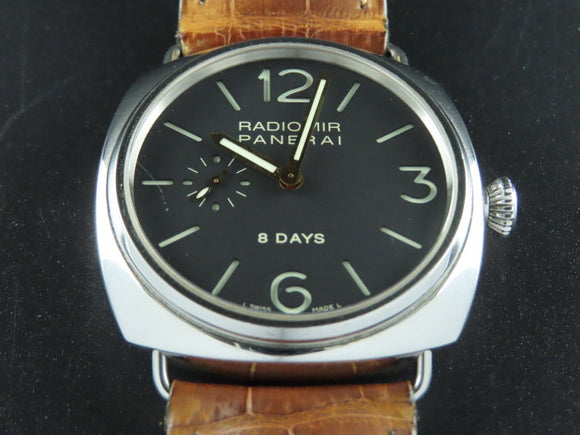 Panerai Radiomir 8 Days Jaeger LeCoultre Movement PAM 190