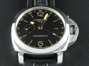 "Panerai Luminor 1950 3 Days GMT Power Reserve Automatic 44 mm ""Q"" Series PAM 531"