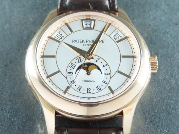 Patek Philippe Annual Calendar Tiffany & Co. 18 ct. Rose Gold 5205