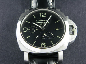 "Panerai Luminor 1950 3 Days GMT Power Reserve Automatic 44 mm ""P"" Series PAM 321"