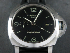 "Panerai Luminor 1950 3 Days GMT Automatic 44 mm ""O"" Series PAM 320"