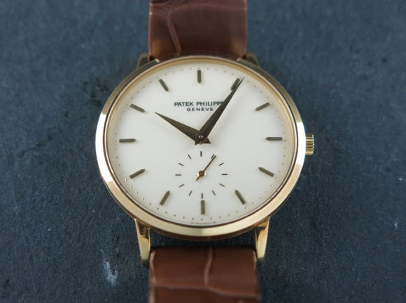 Patek Philippe Calatrava 18 ct. Yellow Gold 3893